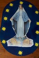 Miraculous medal craft.