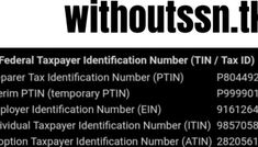 Where you can get a valid ITIN number and complete the tax interview using fake information Fake Identity, Identity Fraud, Free Banking, Employer Identification Number, Opening A Bank Account, Google Voice, Internal Revenue Service, Change Your Address