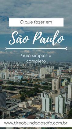 Descubra o que fazer em São Paulo, a maior cidade do Brasil e uma das maiores do mundo. Conheça passeios clássicos e inexplorados. #saopaulo