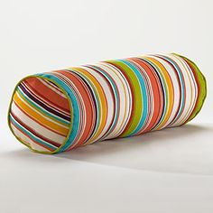 Bali Stripe Bolster Pillow at Cost Plus World Market