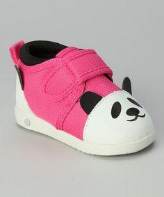 Pink Panda Princess Sakura Squeaker Shoe