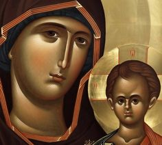 Theophania Ikonen Religious Images, Religious Icons, Religious Art, Byzantine Icons, Byzantine Art, Face Icon, Religious Paintings, Biblical Art, Holy Mary