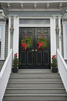 festive doors   Flickr - Photo Sharing!