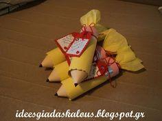 Ιδέες για δασκάλους: Γλυκά μολυβάκια