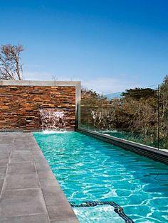 deck, wall, lap pool - I want a lap pool!