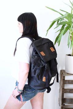 Junkbox 'ATB' UNISEX explorer backpack in Black