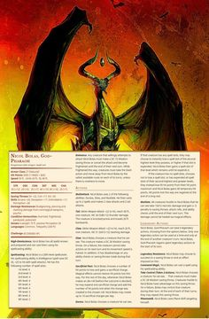 dungeons and dragons Homebrewing [OC] Nicol Bolas Remastered Dungeons And Dragons Classes, Dungeons And Dragons Characters, Dungeons And Dragons Homebrew, Dnd Characters, Dragon Rpg, Fantasy Dragon, Fantasy Rpg, Fantasy Creatures, Mythical Creatures