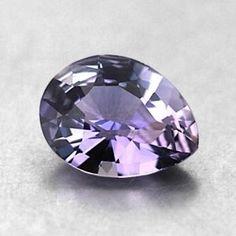 9x7mm Purple Pear Shaped Sapphire #BrilliantEarth