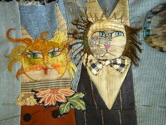 stitching a date with destiny by jude hill, via Flickr / on TTL Design
