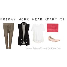 Friday Work Wear (Part 2) by cookiek on Polyvore