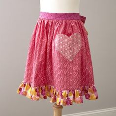 Frilly apron #apron