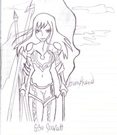 Erza requested by @FelineUniverse