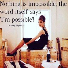 """Nothing is impossible, the word itself says 'I'm possible'!"" Sretan Dan žena svim damama koje nas prate ❤ Budite hrabre, odvažne, nasmijane i sretne  #magishome"