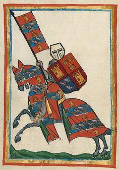 Not part of the Manesse Codex - made in 2017 - De Bende van Brabant