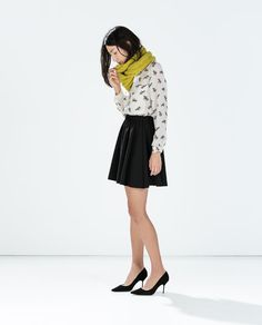 Image 1 of SKIRT WITH ELASTIC WAIST from Zara