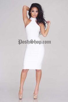 Jayden Bandage Dress - White