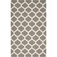 Too much pattern? Surya Rug Frontier Taupe/White Rug