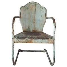 I pinned this Sturbridge Garden Chair from the Vintage Verve event at Joss and Main!