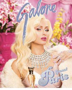 PARIS HILTON wearing Lime Crime VENUS PALETTE in @galore magazine!  Photo @jasonaltaan  Hair by Larry McDaniel  Styled by @mandelkorn  Makeup by @etienneortega