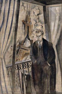 Robert Delaunay (French, 1885-1941)    The Poet Philippe Soupault    1922