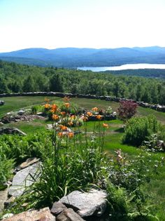 Mountain top landcaping. www.newenglandmoves.com/Dean.Eastman