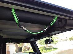 Jeep paracord handles