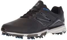 Made from leather and synthetic these mens nb tour golf shoes by New Balance  come with ce0445442f3