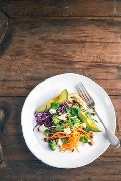 Hear Me Raw Vege Salad Raw Food Recipes, Salad Recipes, Cooking Recipes, Healthy Recipes, What's Cooking, Vegan Food, Clean Eating, Healthy Eating, Healthy Grains