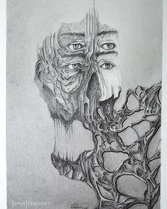 Der ewige König Pencil 29.7 x 42.0 cm #ivanovsky #pencil #drawing #art #king #tufanivanvosky #pencildrawing #skull #winterthur