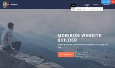 Mobirise HTML Website Builder v2.10 - New article! What is better to use: WordPress or Mobirise HTML Website Builder? Find out more in this article.