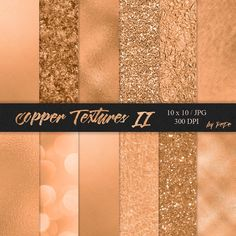 Copper Textures II #pay#products#receive#part