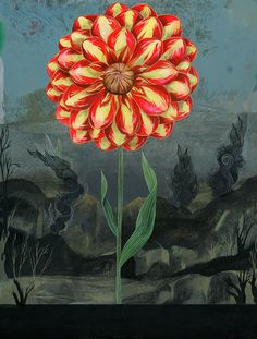 Painting by Olaf Hajek.