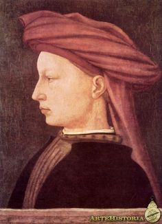 Masaccio - retrato de jóven (quattrocento)