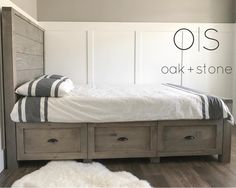 Ana White | Storage Bed - DIY Projects