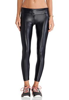 koral activewear Lustrous Legging in Black | REVOLVE