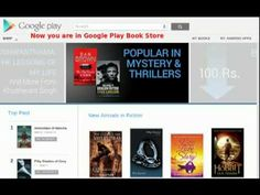 How to download free books from Google Play Store to your Computer