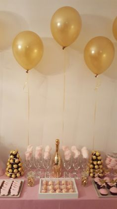 Butterfly, gold, pink, birthday, party
