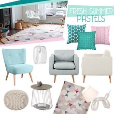 Fresh Summer Pastells I Home24 Showroom