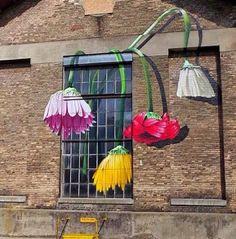 Flower Power - graffiti created for Winterthur's Urban Art Festival…