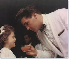 Elvis Presley at Red Wests Wedding