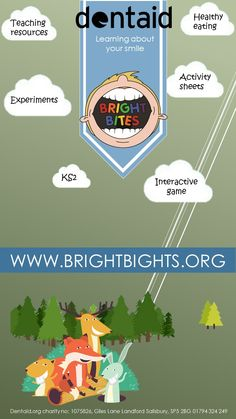 Bright Bites campaign for educating children about teeth
