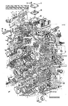 Design Fiction 001 collage sketch by Casey Cripe Technical Illustration, Technical Drawing, Digital Illustration, Mechanical Design, Mechanical Engineering, Vw T3 Camper, Exploded View, Combustion Engine, Cad Drawing