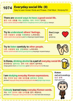 (1074) Everyday social life (II)