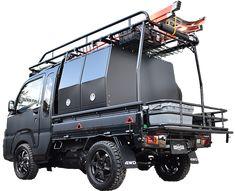 Small Trucks, Mini Trucks, Pickup Trucks, Trailer Wiring Diagram, Suzuki Carry, Boat Design, Camping Car, Cars And Motorcycles, Dream Cars