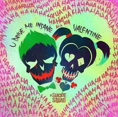 Happy Valentine's day from the Suicide Squad! Hope you all have a wonderful day filled with love and joy! 6 Months left till Suicide Squad!!!