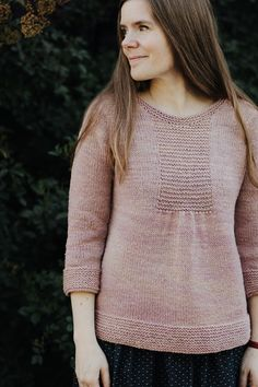 Crew neck version using hand-dyed cormo.