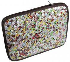 Notebook taske i genbrugsmateriale | Albot