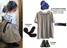 """Look """"Comme Jeanne"""""""