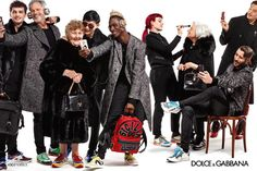 Dolce & Gabbana's Fall Campaign Is All About Family and Selfies - Fashionista