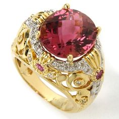 Pink diamond... should have been set in Rose Gold